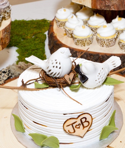 Bird's Nest Cutting Cake