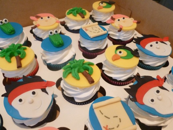 jake and the neverland pirates cupcakes - photo #27