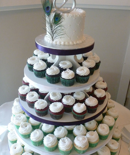 Four Tiers with Topper