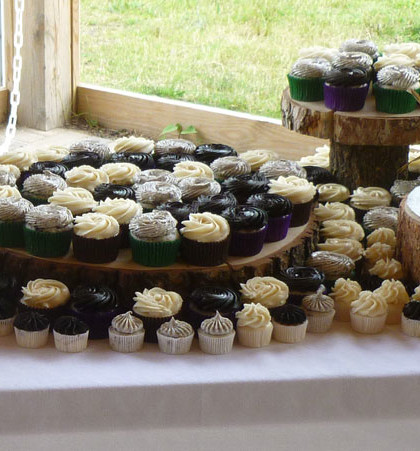 Cupcakes on Display