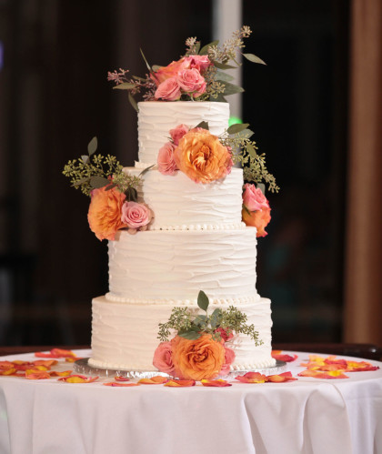 Three Tiers with Roses