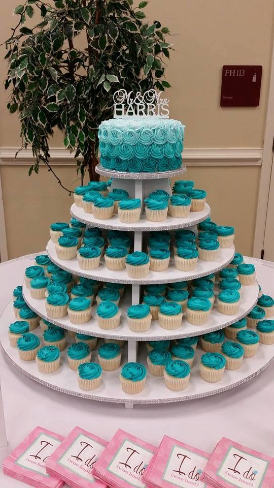 Wedding With Cupcakes Cakes By Crystal