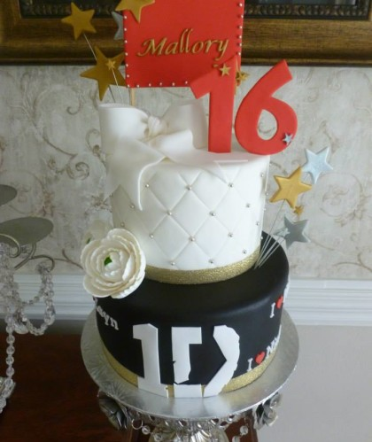 Two Tier Sweet 16