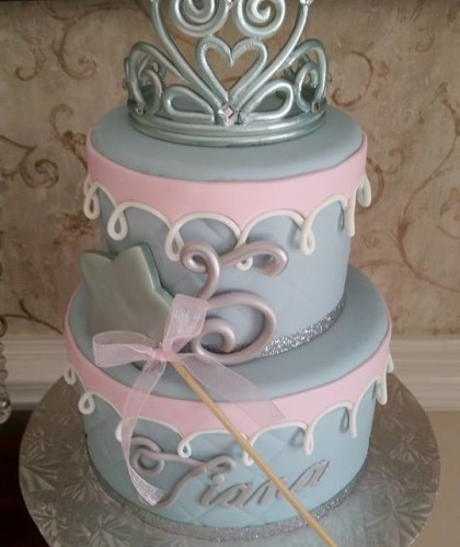 Two Tier with Tiara