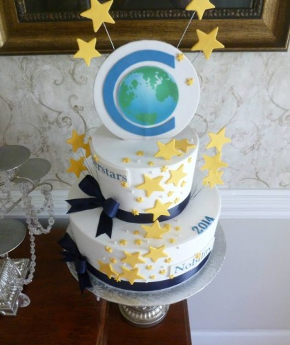 Two Tiers with Stars