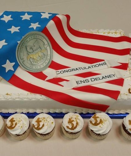 Flag and Cupcakes with Anchors
