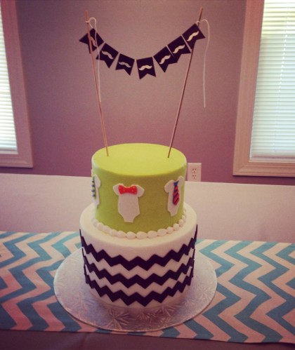 Two Tier Baby Shower