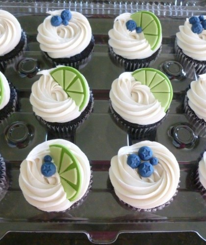 Blueberry and Lime