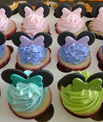 Pastel Minnie Mouse Ears