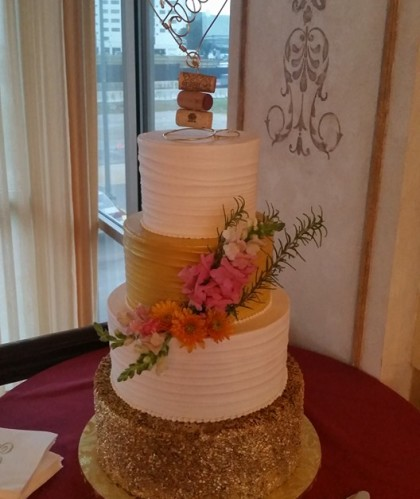 Four Tier with Corks