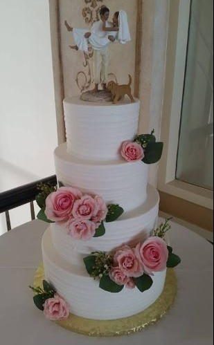 Four Tier With Topper