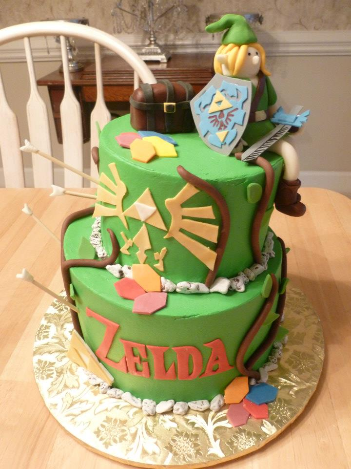 The Legend Of Zelda Cakes By Crystal