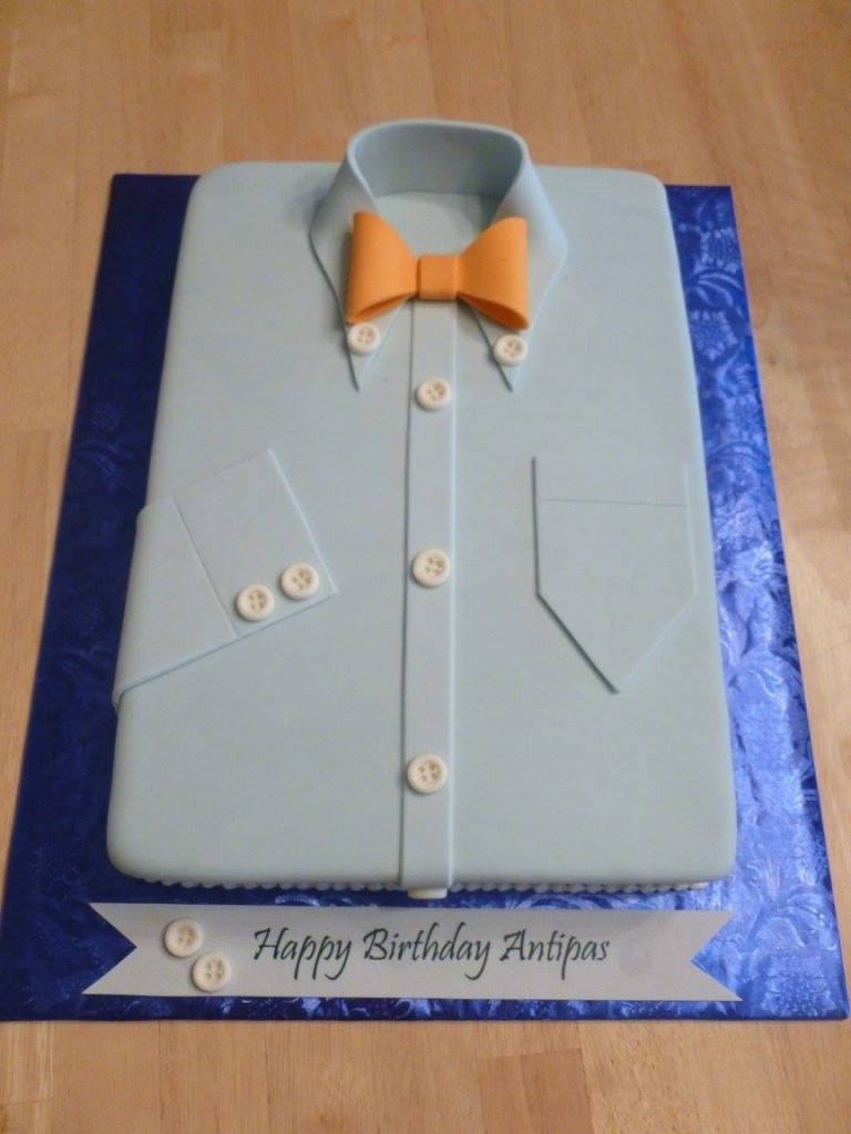 Shirt and Bowtie - Cakes by Crystal