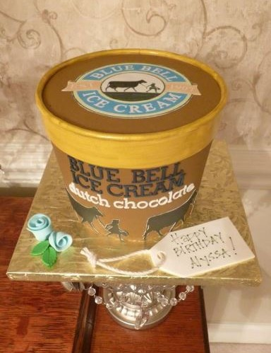 wedding cake blue bell ice cream birthday gallery cakes by 22027