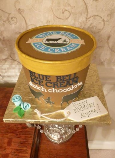 blue bell wedding cake ice cream birthday gallery cakes by 11974